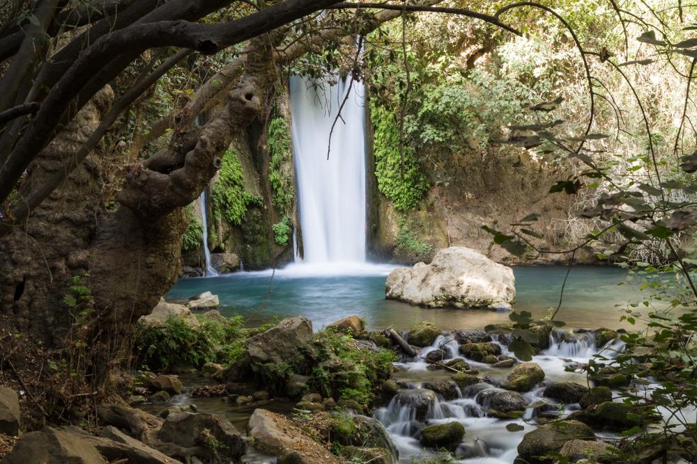banias wasserfall israel