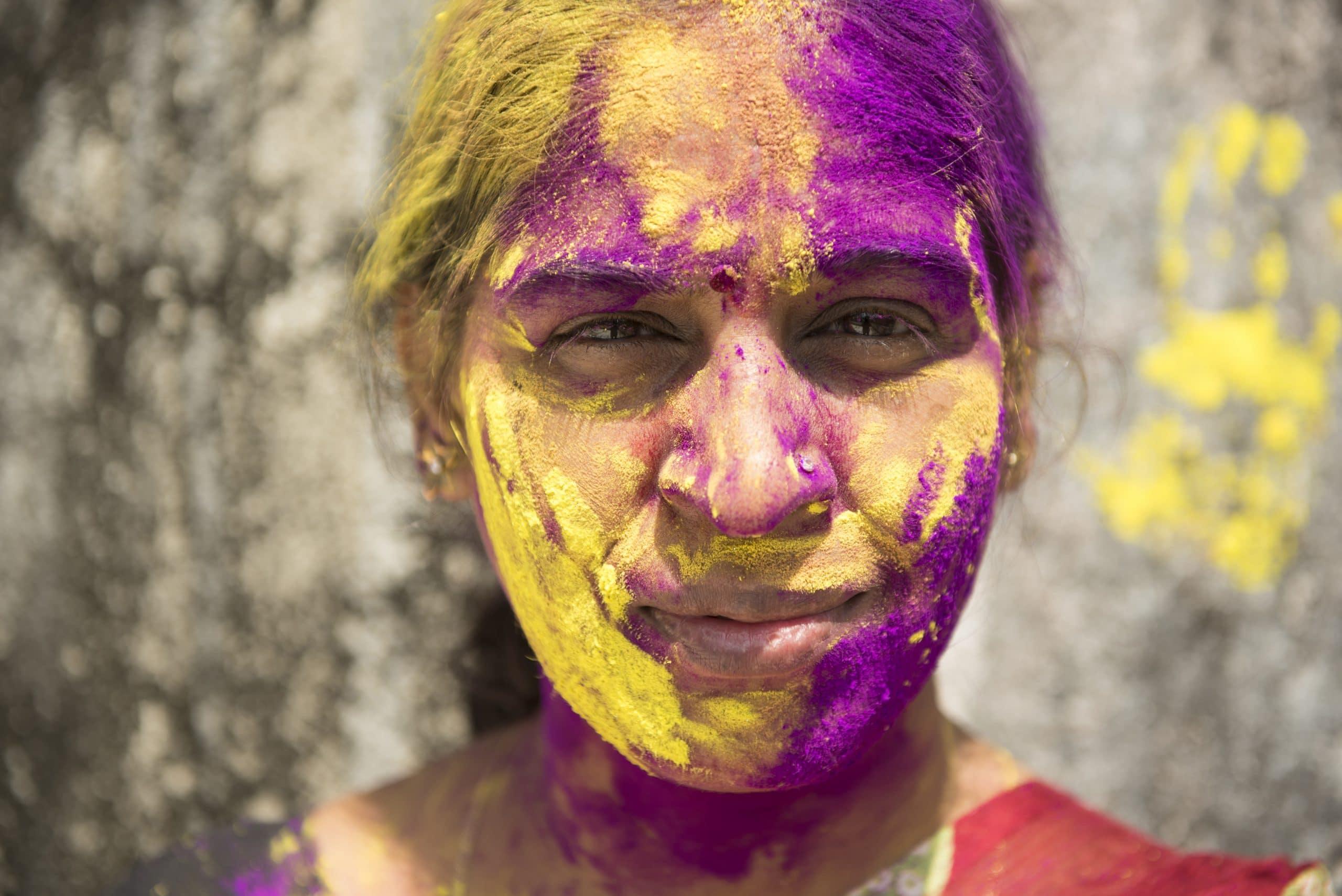 holi festival farben indien
