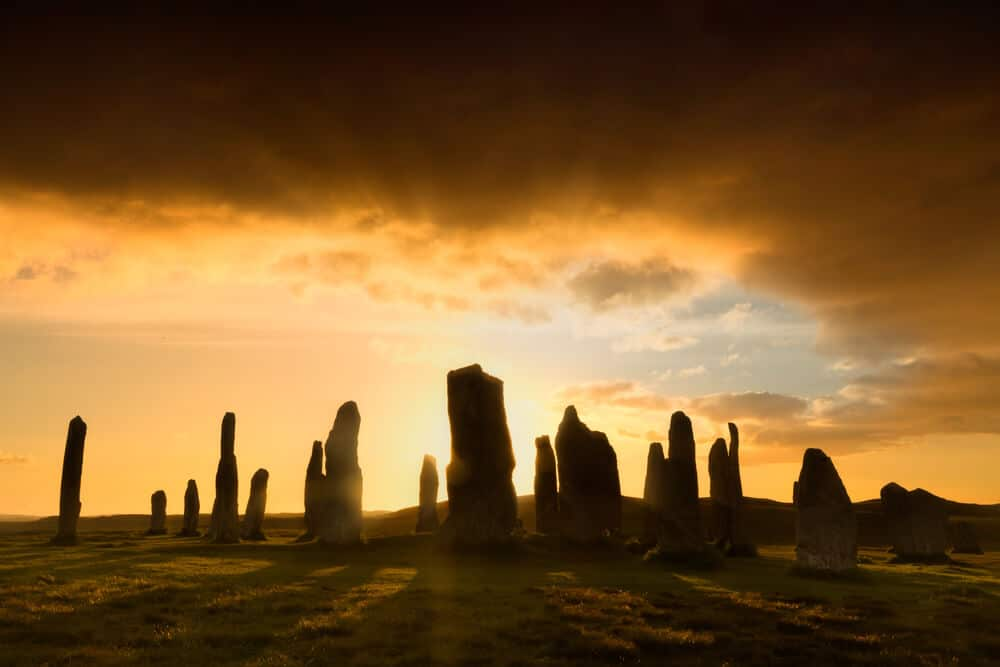 Callanish Stone in Schottland