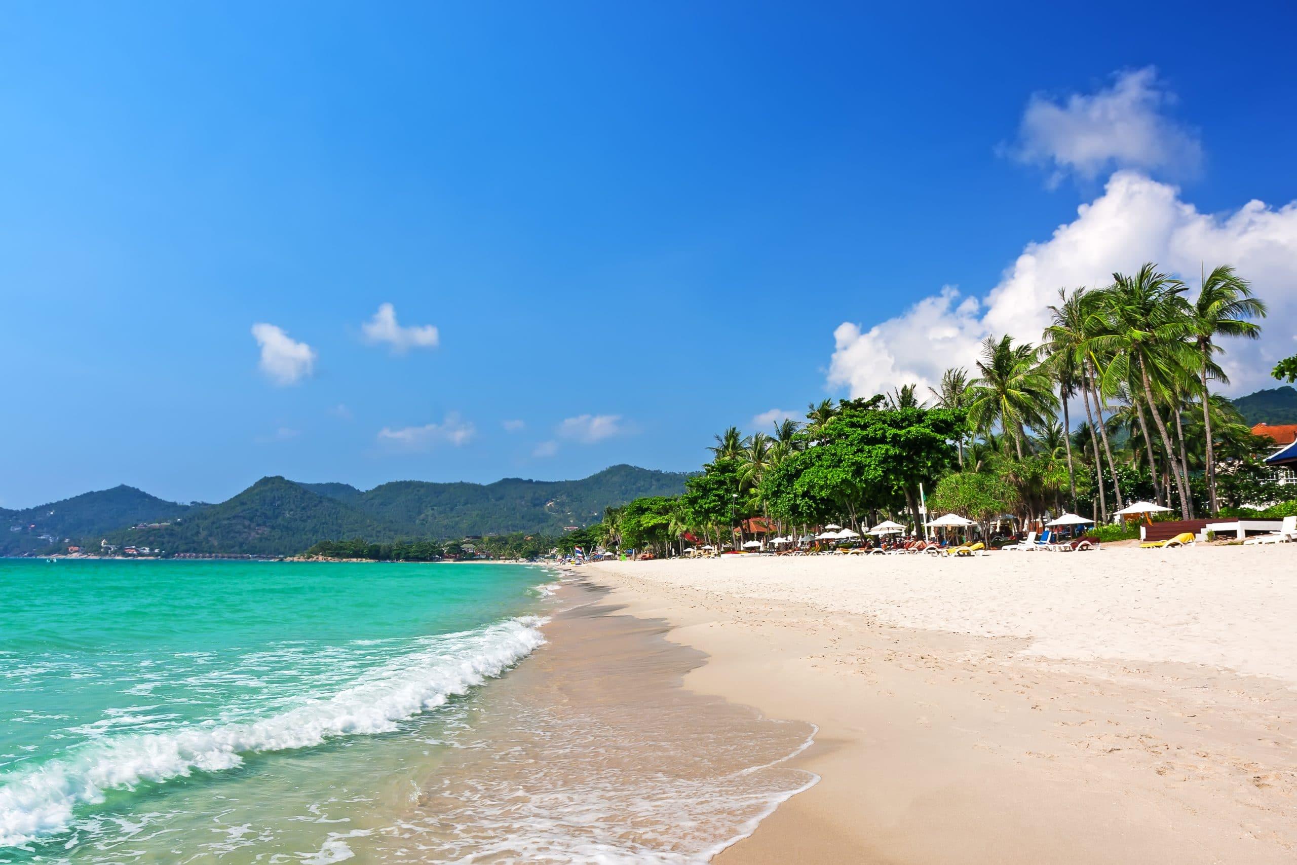 chaweng beach thailand koh samui