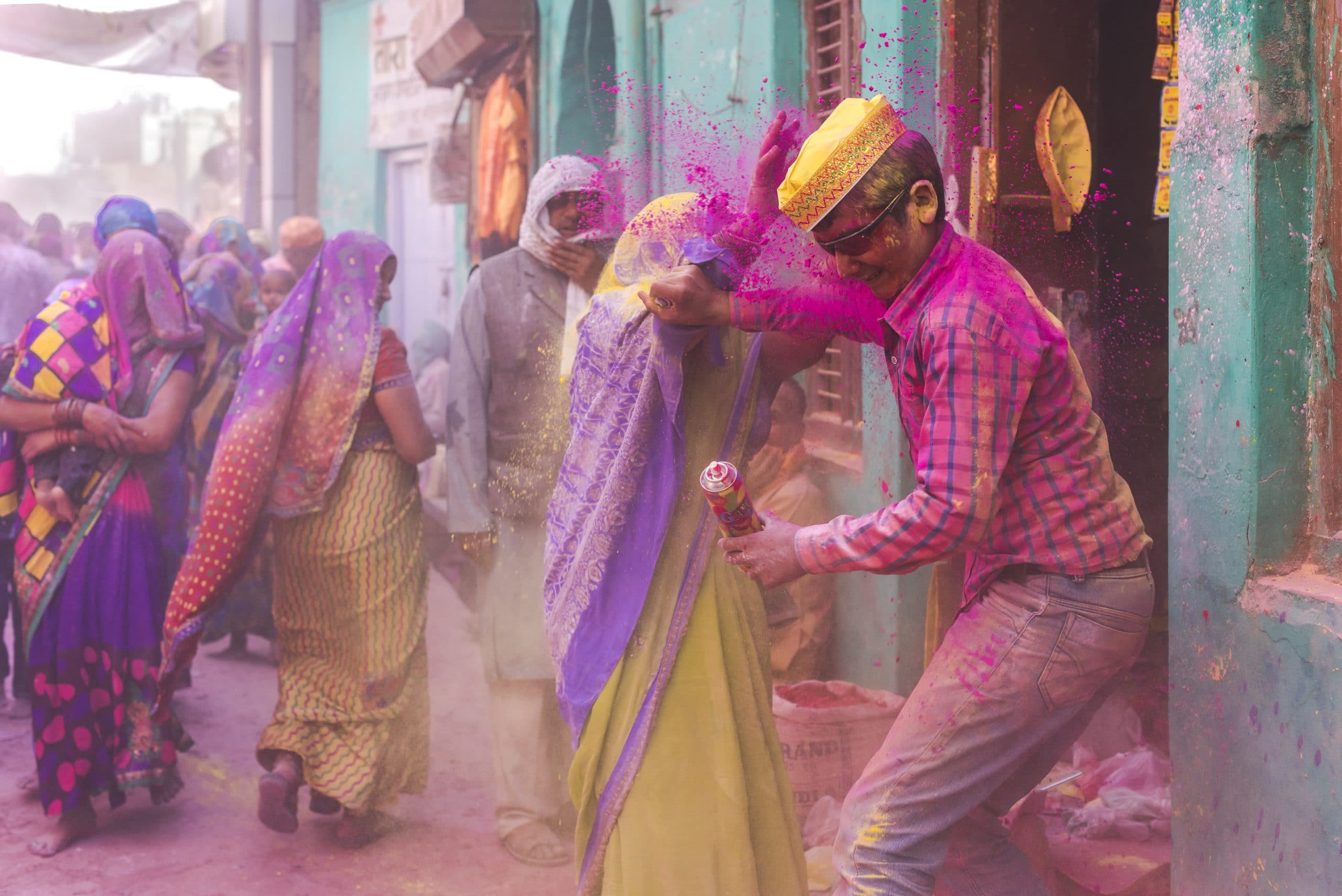 holi festival farben barsana