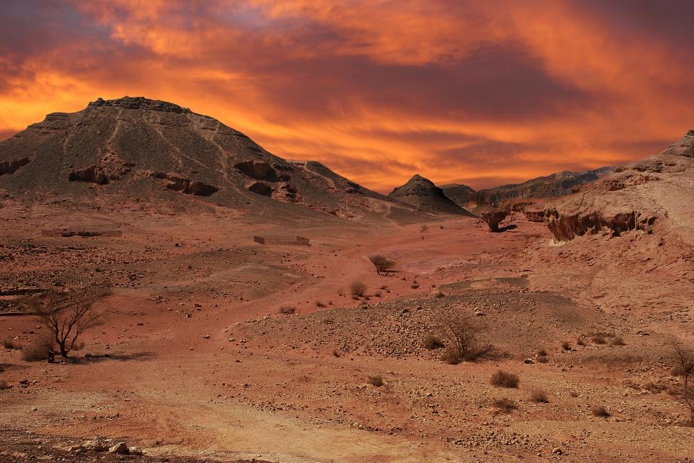 arava wüste israel