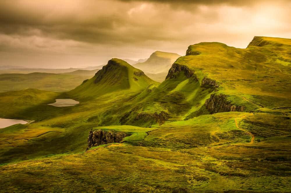 Bild des Hochlands Schottlands