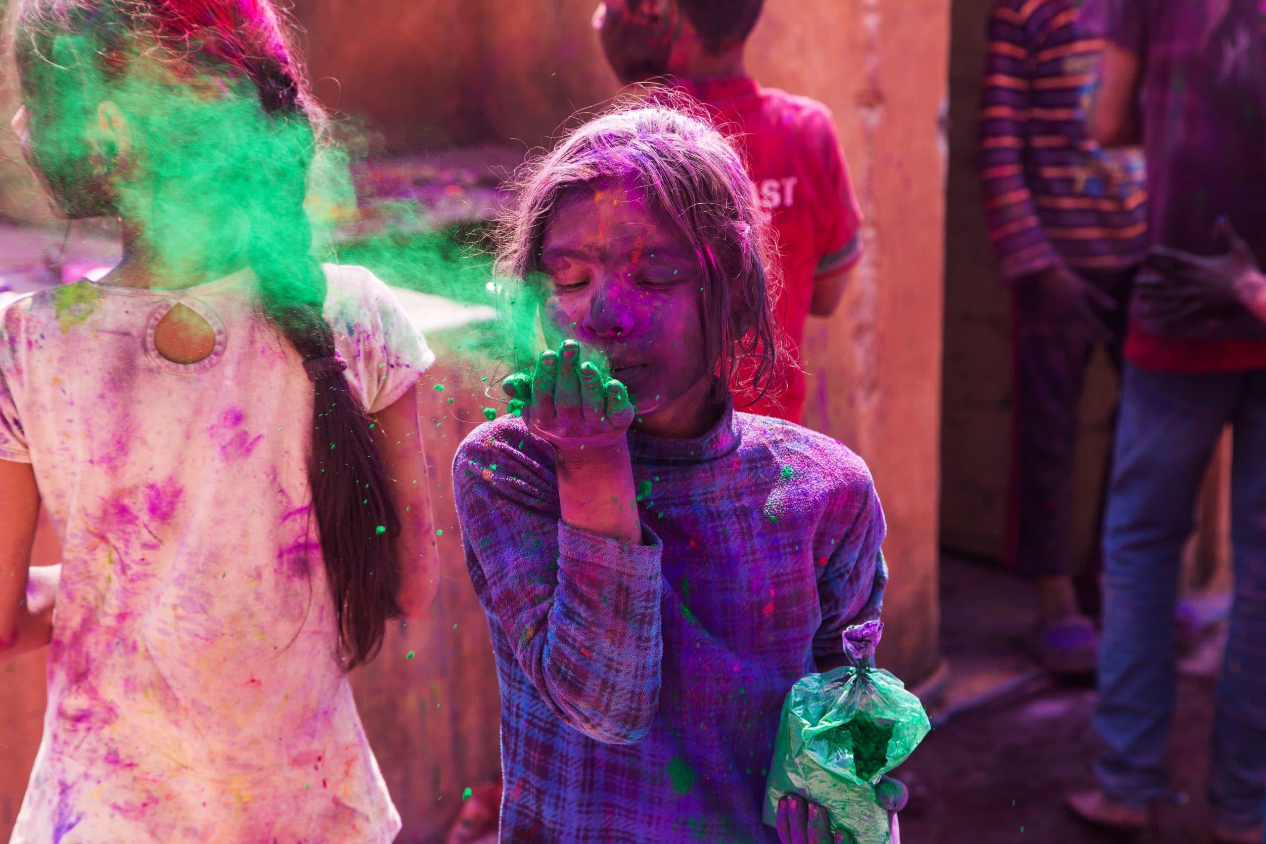 holi festival der farben indien