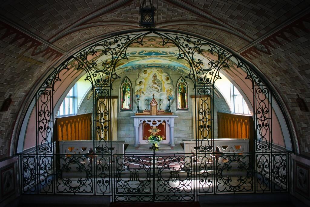Die italienische Kapelle gebaut 1942 in Schottland © Phil MacD Photography / Shutterstock