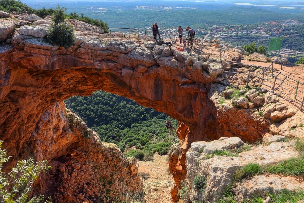 Keshet Höhle Israel