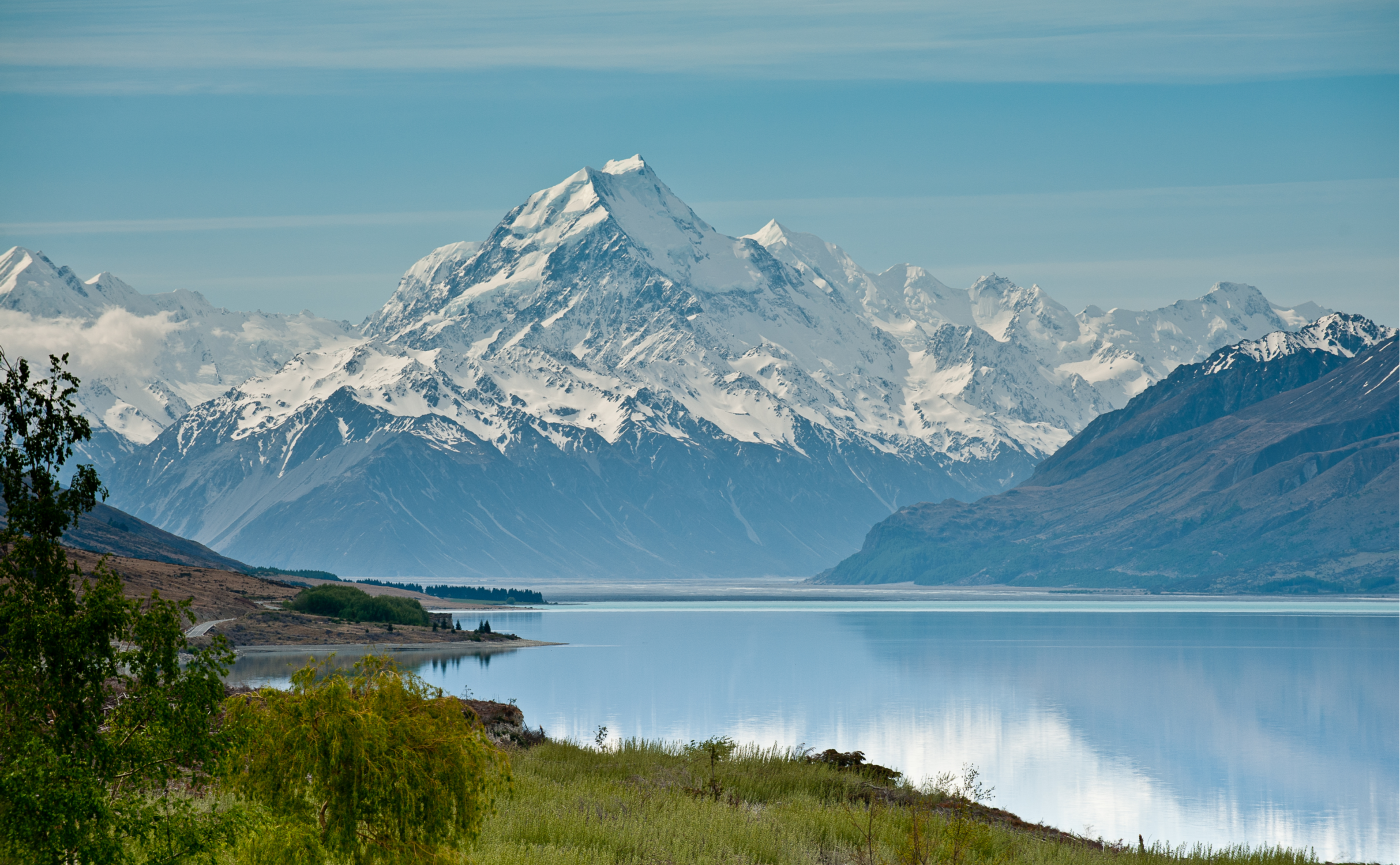 Mount Cook National Park und Lake Pukaki