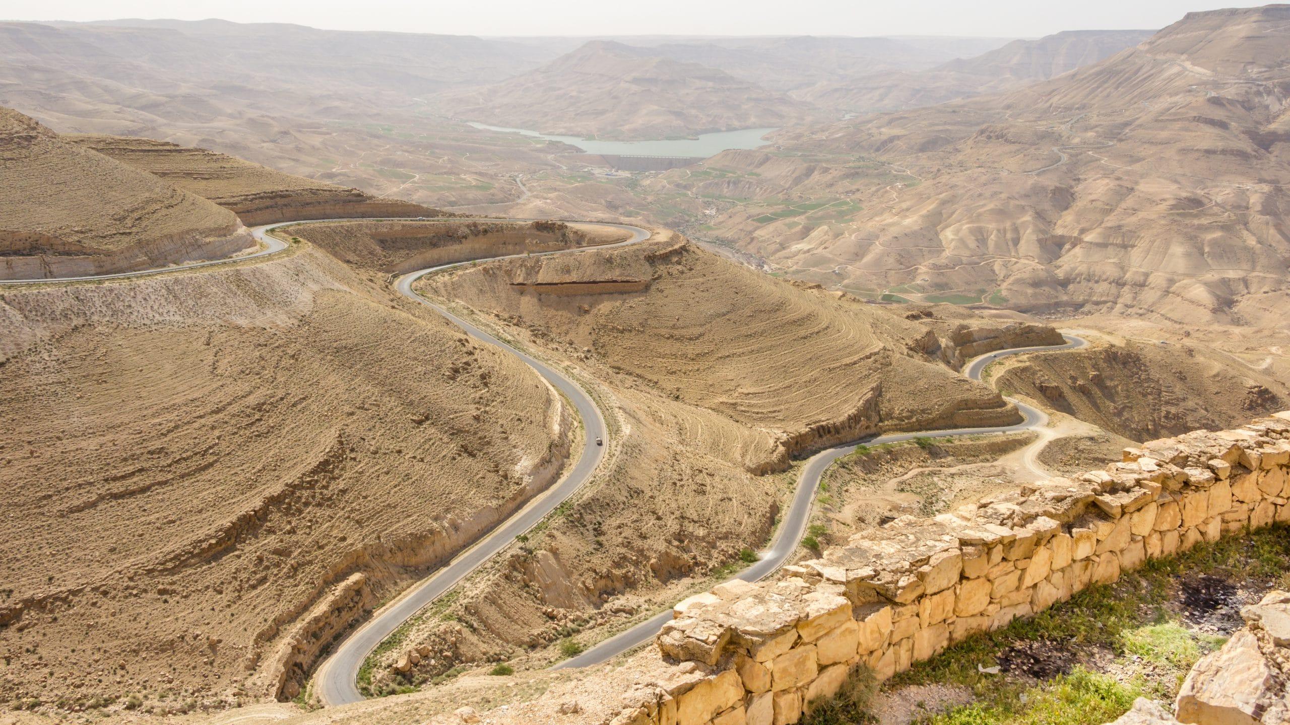 roadtrip jordanien mount nebo