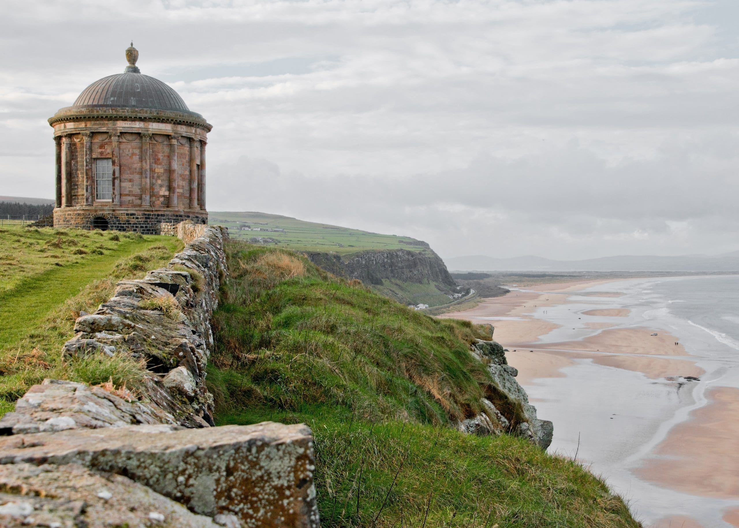 mussenden tempel downhill beach dragonstone game of thrones