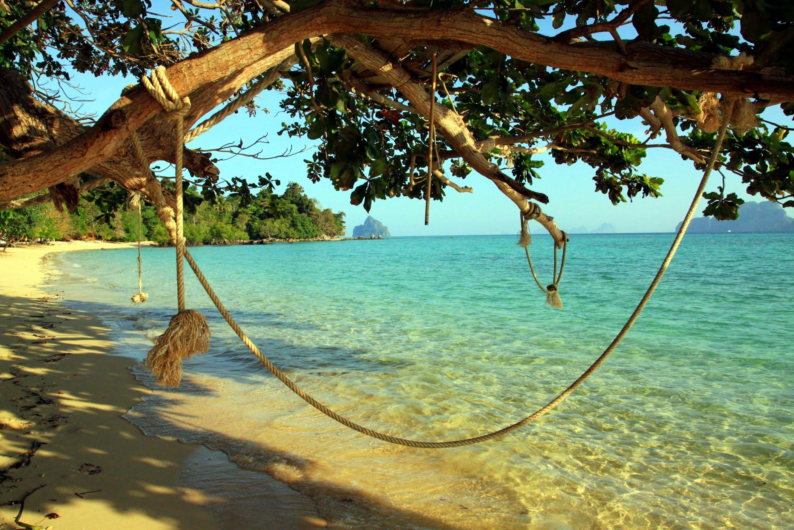 paradise beach koh kradan