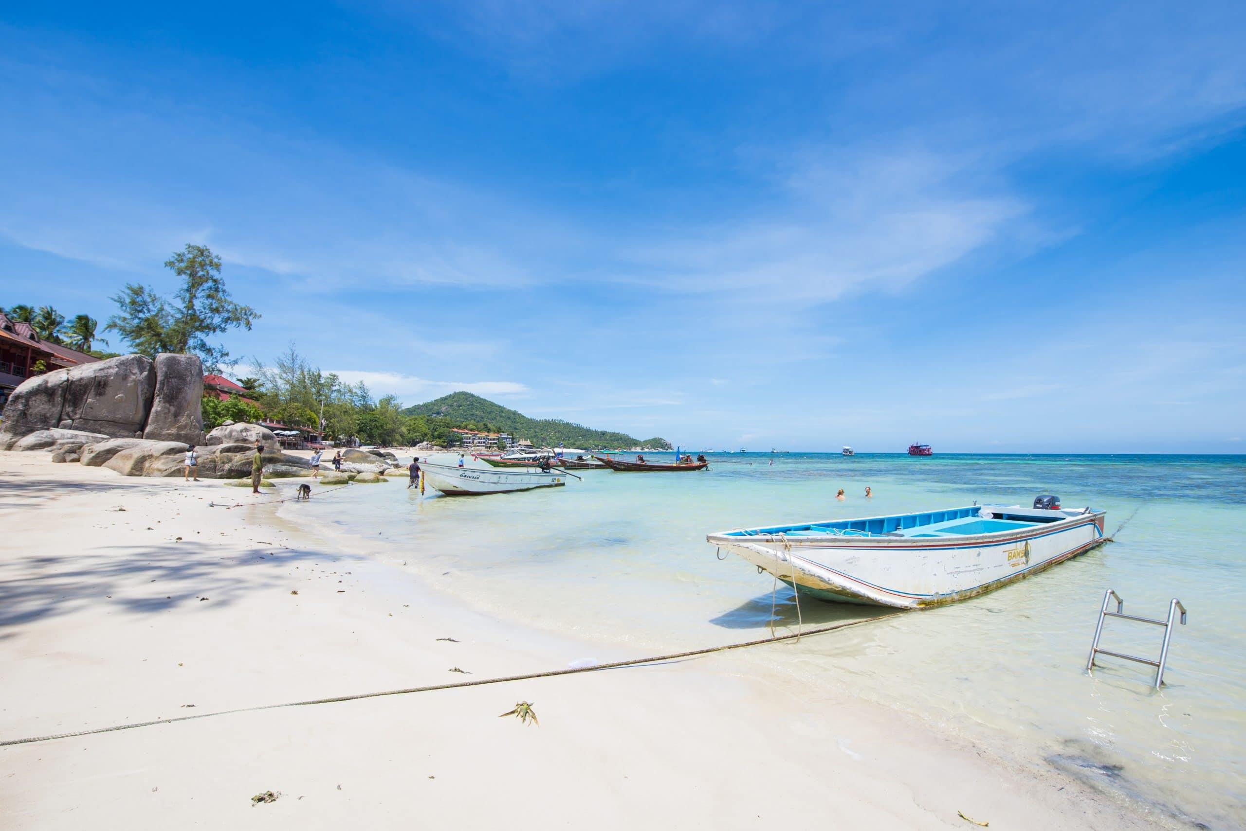 sairee beach koh tao thailand