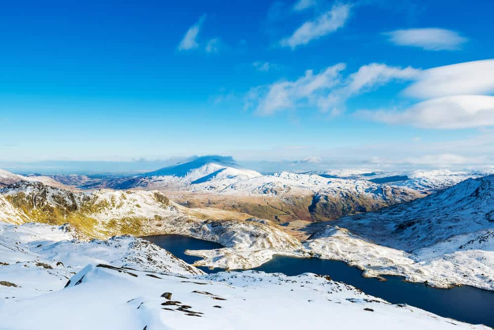 Snowdonia-Gebirge, Wales