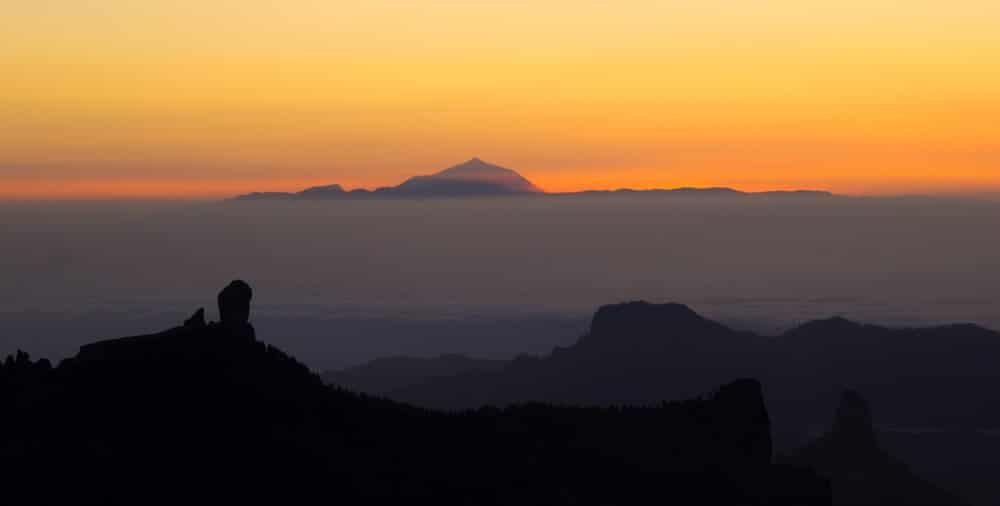 Sonnenuntergang auf Teneriffa in der Teide © tamara / Shutterstock