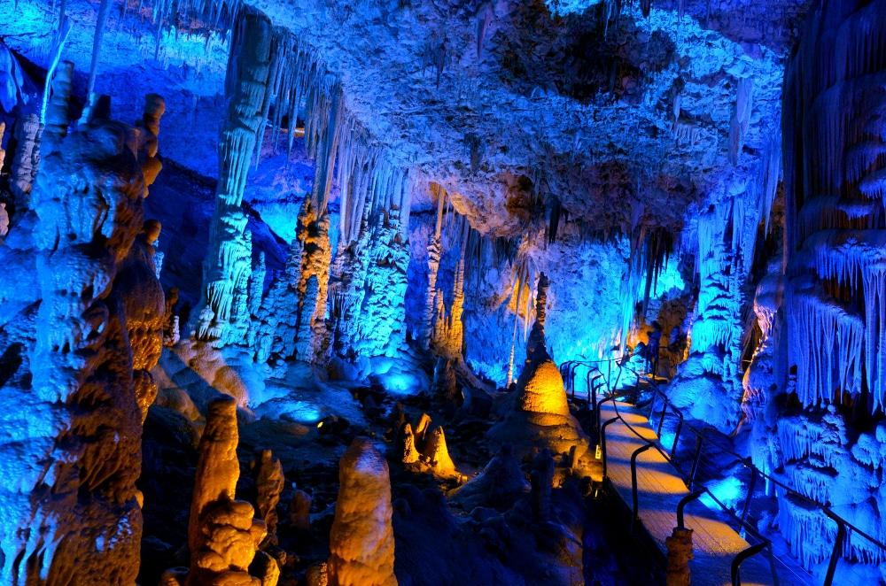 soreq avshalom höhlen israel