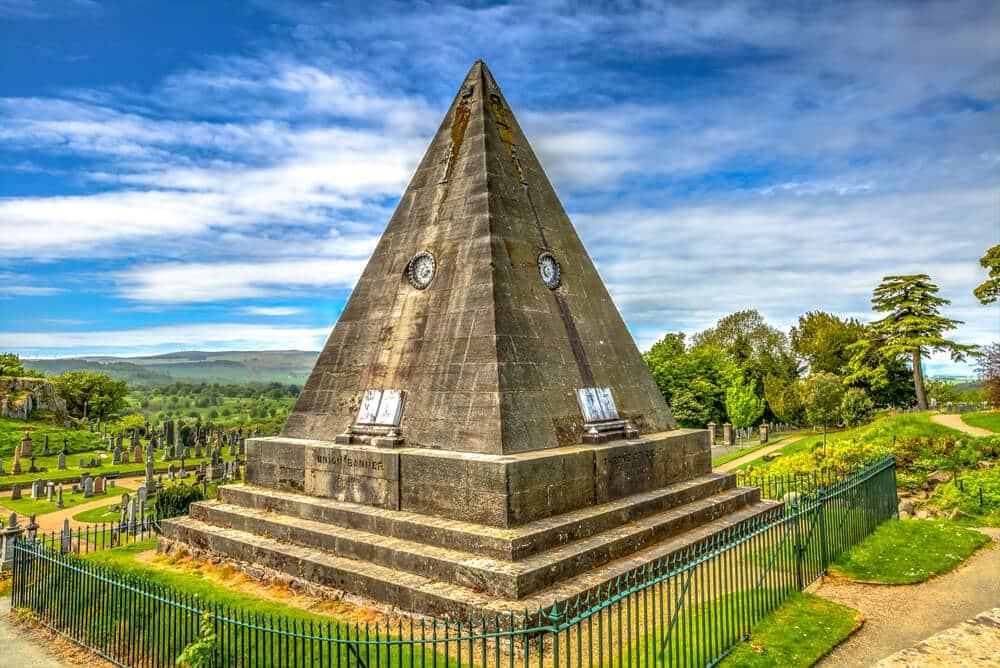 Die mysteriöse Star Pyramide aus Sandstein © Benny Marty / Shutterstock