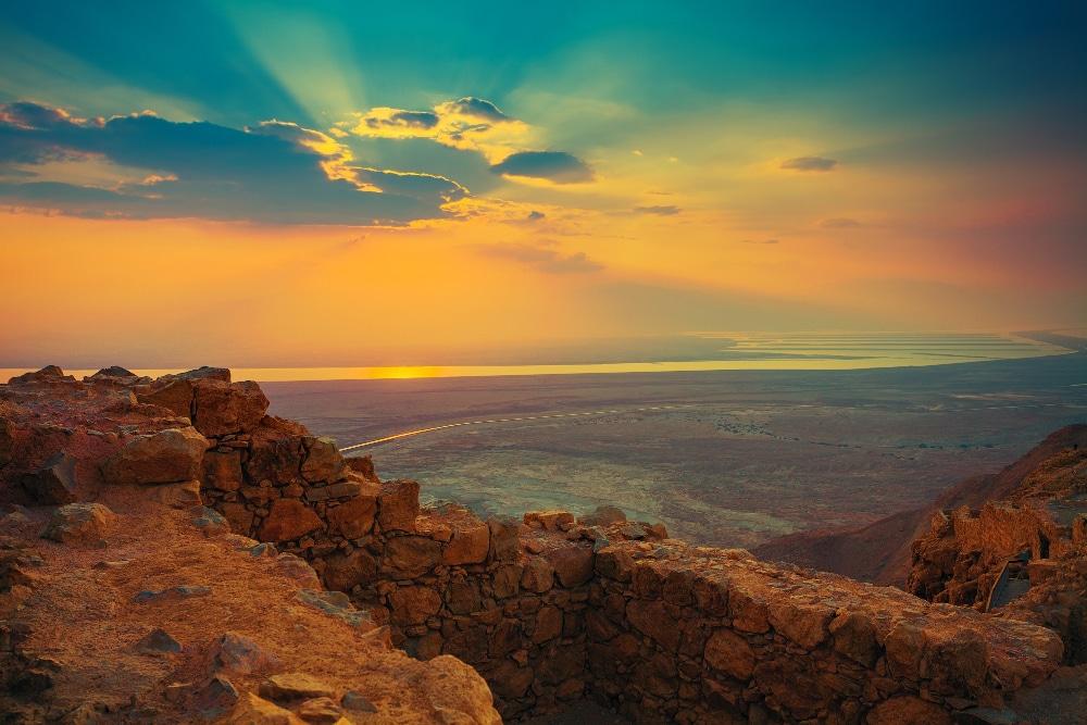 masada festung judäische wüste israel