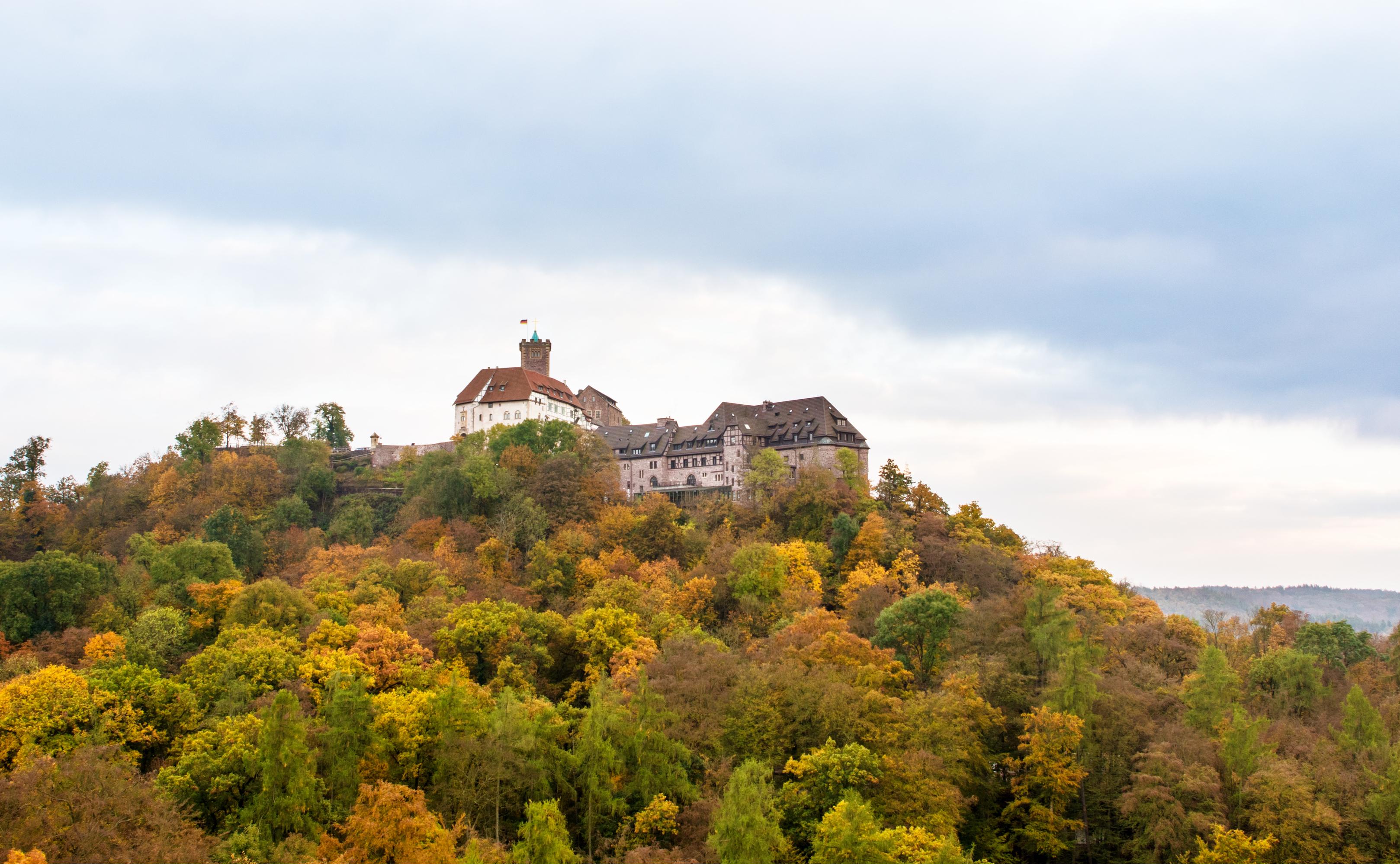 Wartburg bei Eisenach im Herbst