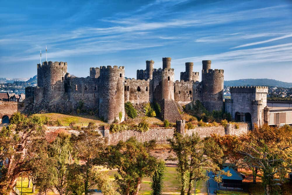 Burg Conwy, Wales
