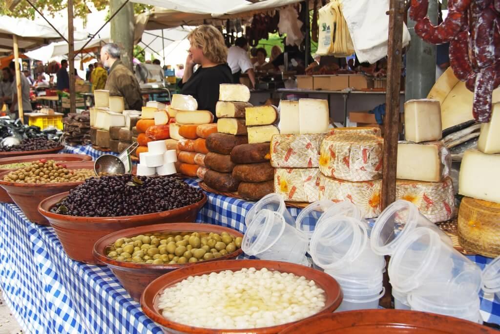 Mallorca Spezialitäten auf dem Markt