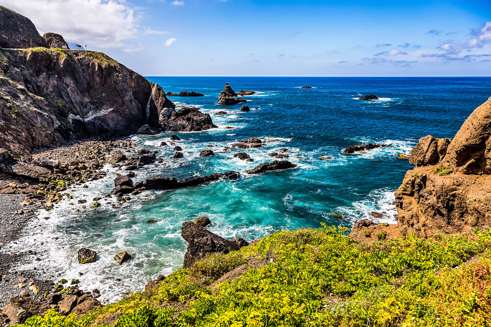Wandern an der Küste Teneriffas