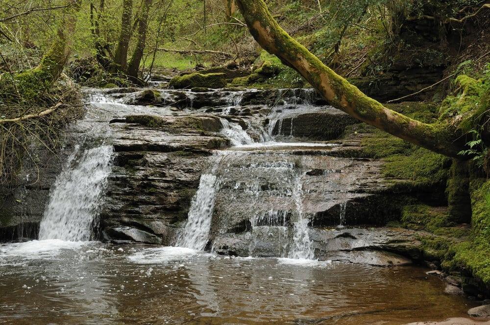 Wasserfall Pwll-y-Wrach, Wales